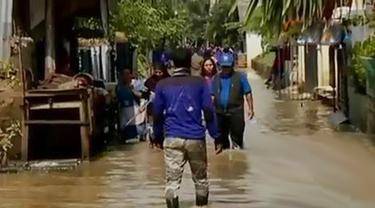 Cipinang Kembali Kebanjiran hingga Polisi Temukan Sabu