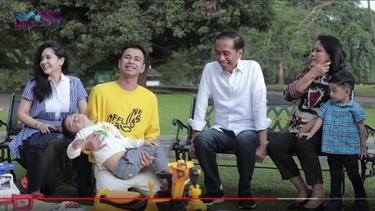 [Fimela] Jokowi dan Raffi Ahmad - Nagita Slavina