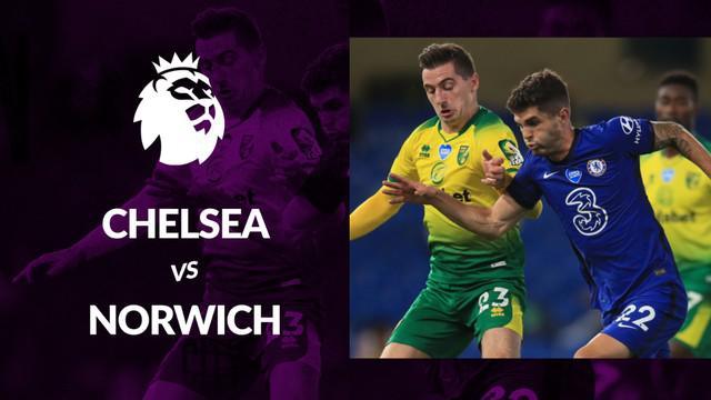 Berita motion grafis statistik Chelsea vs Norwich City pada lanjutan Premier League 2019-2020 pekan ke-36, Rabu (15/7/2020).
