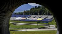 Sirkuit Red Bull Ring, Austria. (JOE KLAMAR / AFP)