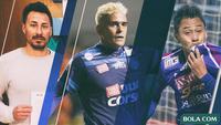 Penyerang Hebat yang Pernah Dimiliki Arema FC (Bola.com/Adreanus Titus)
