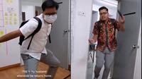 Viral Istri Buat Video Kompilasi Suami Setiap Pulang Kerja, Curi Perhatian Netizen (sumber: Twitter.com/HaissazcH)