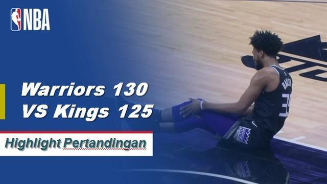 Stephen Curry dan Kevin Durant menggabungkan untuk 68 poin ketika para Prajurit rally kembali untuk mengalahkan Kings, 130-125.