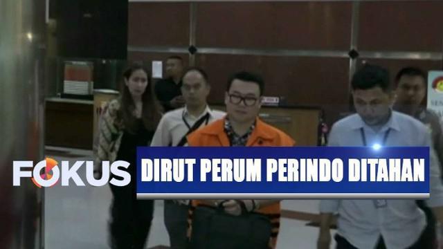Direktur Utama PT Navi Arsa Sejahtera Mujib Mustofa selaku importir ikan juga digelandang ke ruang tahanan di Mapolres Jakarta Selatan.