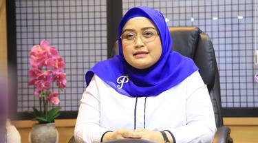 Direktur Jenderal Pembinaan Hubungan Industrial dan Jaminan Sosial Tenaga Kerja (PHI-Jamsos) Kementerian Ketenagakerjaan (Kemnaker), Indah Anggoro Putri
