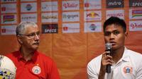 Bek Persija Jakarta, Fachrudin Aryanto, berharap timnya tak lagi kebobolan melalui skema serangan balik, (dok, Persija Jakarta)
