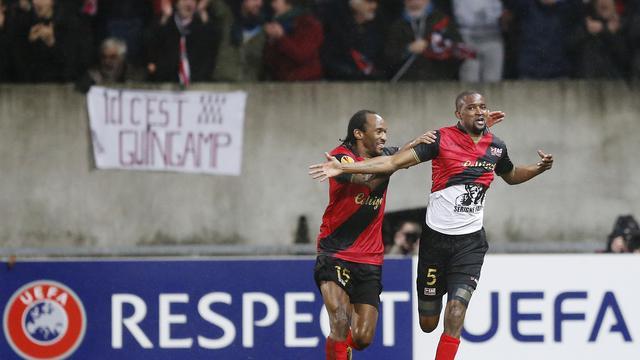 Hasil Liga Europa: Guingamp 2 - 1 DynamoKyiv