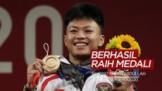Berita Video Beragam Aksi dari Rahmat Erwin Abdullah yang Berhasil Persembahkan Medali di Olimpiade Tokyo 2020