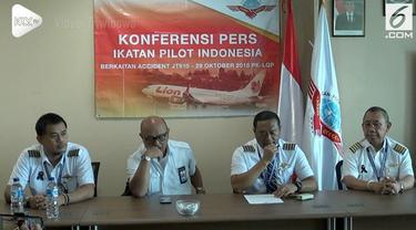Ikatan Pilot Indonesia (IPI) Mengimbau masyarakat tidak khawatir untuk naik pesawat terbang terkait kecelakaan yang menimpa pesawat Lion Air 610