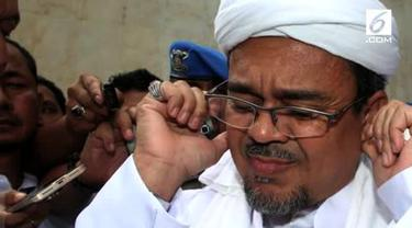 Kepolisian Republik Indonesia sudah mengajukan blue notice kepada Interpol terkait keberadaan tersangka kasus dugaan pornografi berupa chat seks, Rizieq Shihab