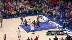 Berita video game recap NBA 2017-2018 antara Philadelphia 76ers melawan Boston Celtics dengan skor 103-92.