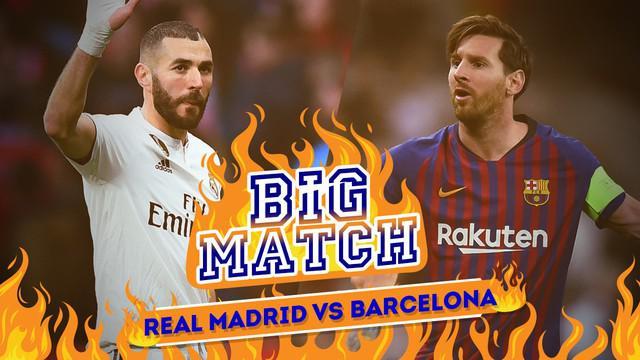 Berita video Big Match tentang pertandingan yang mempertemukan Real Madrid menghadapi Barcelona dalam leg kedua semifinal Copa del Rey.