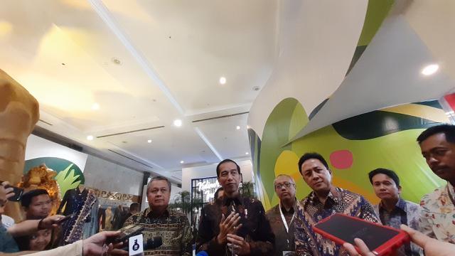 Presiden Jokowi buka pameran UMKM mitra binaan Bank Indonesia