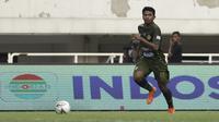 Rifad Marasabessy musim ini menjadi pemain kunci di Tira Persikabo dan mencetak gol pertamanya ke gawang Persija Jakarta. (Bola.com/Yoppy Renato)