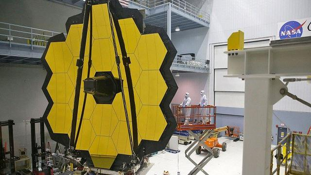 Nasa habiskan rp triliun untuk teleskop pengganti hubble