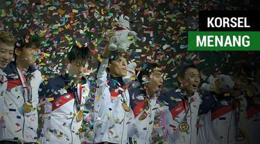Berita video highlights laga kemenangan Korsel (Korea Selatan) atas Jepang pada final sepak bola putra Asian Games 2018.