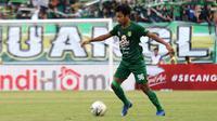 Gelandang Persebaya Surabaya, Muhammad Hidayat. (Bola.com/Aditya Wany)