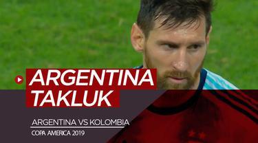 Berita video highlights Copa America 2019 antara Argentina melawan Kolombia yang berakhir dengan skor 0-2, Sabtu (15/6/2019).