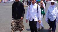 Menteri Agama Lukman Hakim Syaifuddin di Makkah. Dok Kemenag