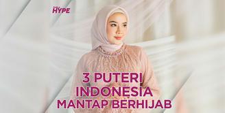 3 Puteri Indonesia yang Kini Berhijab