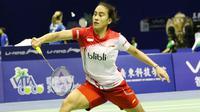 Piala Sudirman: Bellaetrix Manuputty (badmintonindonesia)