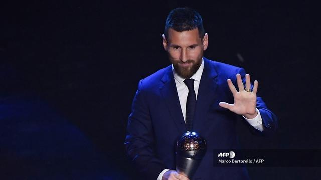 ผลการค้นหารูปภาพสำหรับ Kejutan terjadi di FIFA Best Awards 2019. Striker Barcelona, Lionel Messi
