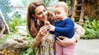 Kate Middleton dan Pangeran Louis (dok. Instagram @kensingtonroyal/https://www.instagram.com/p/BxqMgq0FOcA/Putu Elmira)