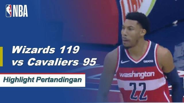 Bradley Beal mengangkat Wizards atas Cavaliers, 119-95, dengan 20 poin dan 3 steal. Collin Sexton mencetak 24 poin untuk Cleveland dalam kekalahan.