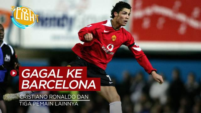 Berita video spotlight kali ini membahas tentang pesepakbola yang gagal bergabung dengan Barcelona.