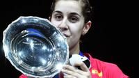 Tunggal putri Spanyol Carolina Marin juara All England 2015 (http://sports.ndtv.com)