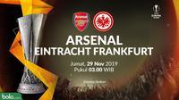 Liga Europa - Arsenal Vs Eintracht Frankfurt (Bola.com/Adreanus Titus)