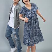 Rizky Nazar dan Michelle Ziudith menjadi pemain utama film Calon Bini (Dok.Screenplay Films)