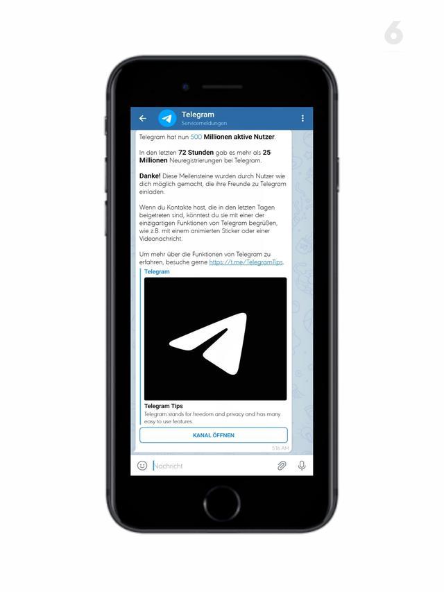 Telegram, Aplikasi Telegram