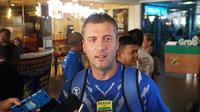 Pelatih Persib Miljan Radovic tetap optimis timnya bisa lolos ke semi final Piala Indonesia. (Huyogo Simbolon)