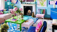 Perempuan di Inggris, Anna Jacobs, menyulap apartemennya jadi penuh warna. (dok. Instagram @annalysejacobs/https://www.instagram.com/p/CDniRTrnEml/