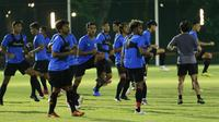 Timnas Indonesia proyeksi SEA Games 2021 bakal melakukan laga uji coba melawan Tira Persikabo, Rabu (3/3/2021). (Foto: Bola.com/M Iqbal Ichsan)
