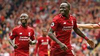 4. Sadio Mane (Liverpool) - 6 Gol. (AFP/Oli Scarff)