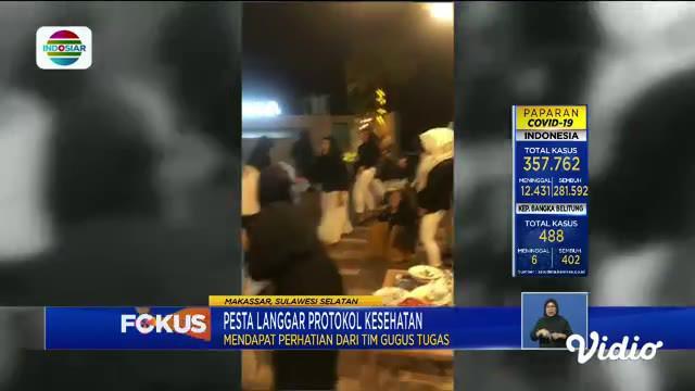 Pada Fokus siang ini mengangkat berita-berita terkini sebagai berikut, Puting Beliung Terjang Rumah Warga, Warga Antre Masuki Stadion GBK, Sulap Selokan Kumuh Jadi Kolam Ikan.