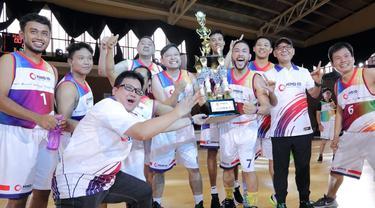 Kompetisi Basket Meriahkan Perayaan HUT ke-2 Holding Industri Pertambangan MIND ID