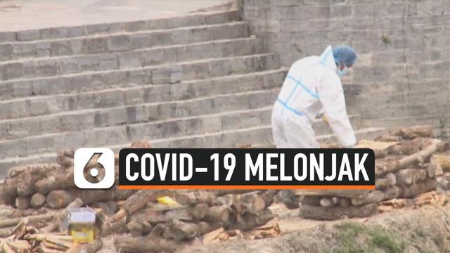 covid-19 melonjak