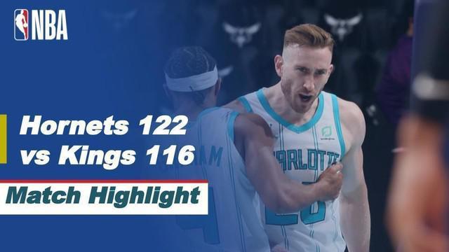 Berita video highlights NBA, Charlotte Hornets Kalahkan Sacramento Kings, 122-116