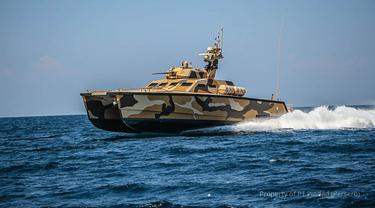 Tank Boat Antasena. Foto: Pindad