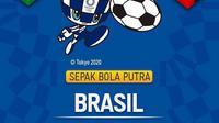 Banner Olimpiade Tokyo 2020 Brazil VS Jerman (Foto: Vidio)