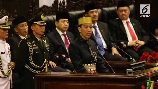 Presiden Joko Widodo atau Jokowi mengatakan, Indonesia adalah bangsa petarung yang berjuang dengan kekuatan sendiri meraih kemerdekaan
