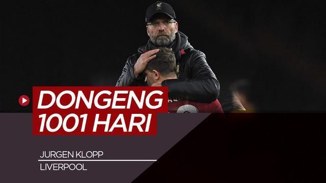 Berita video mengenai dongeng 1001 hari kehebatan Jurgen Klopp bersama Liverpool.