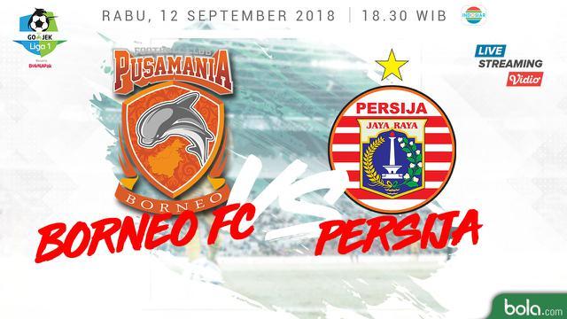 Pusamania Borneo Fc Vs Persija Jakarta