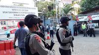 Ilustrasi – Pemindahan napi teroris dari Rutan Mako Brimob ke Lapas Nusakambangan, Mei 2018 . (Liputan6.com/Saimun untuk Muhamad Ridlo)