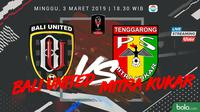 Jadwal Piala Presiden 2019, Bali United vs Mitra Kukar. (Bola.com/Dody Iryawan)