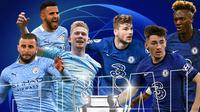 Final Liga Champions: Manchester City vs Chelsea. (Bola.com/Dody Iryawan)