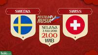 Piala Dunia 2018 Swedia Vs Swiss (Bola.com/Adreanus Titus)